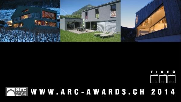 TIKEO Architekturatelier - P2014_01_arc-award - Wettbewerb