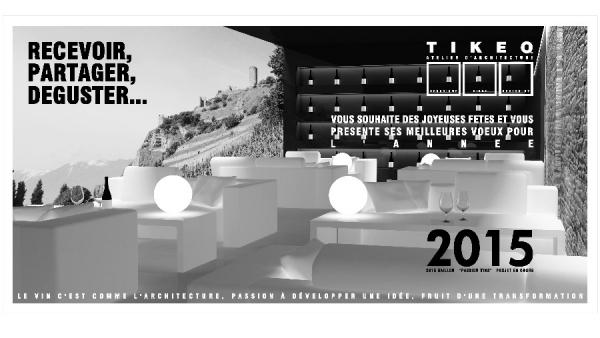 TIKEO atelier d'architecture - 2015 - design by